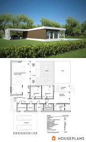 gorgeous modern house plan 106 modern small one story house plans