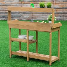 Merry Garden Potting Bench by Amazon Com Giantex Potting Table Bench Outdoor Indoor Work
