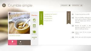 logiciel recette cuisine gratuit applis de cuisine les agrégateurs de recettes pour tablettes