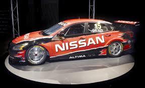 2013 nissan altima jack points 2013 nissan altima v8 supercar begins track tests video