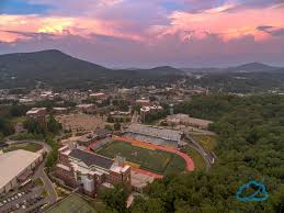 september sunset over boone u0026 asu wataugaonline com