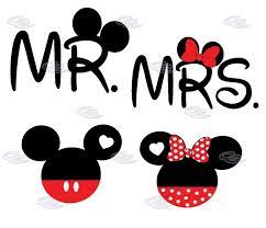 image result for mickey and minnie mouse holding hands silhouette