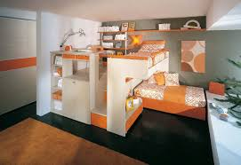 Bedroom Furniture Set Unisex Children U0027s Bedroom Furniture Set Orange Arcamagica 2