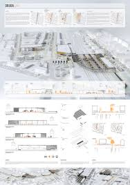 seattle public library floor plans diagrammatic section by oma architectural drawings pinterest