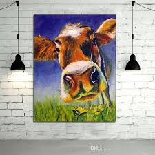 Cow Home Decor 2018 Painted Home Decor Painting The Large Cow
