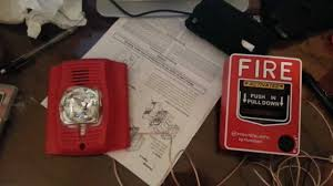 how to wire a fire alarm to pull station youtube