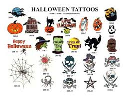 halloween tattoo images u0026 designs