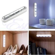 stick on lights for closets 2018 wholesale white tap lights 5 led self stick under cabinet push