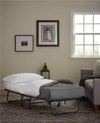 dhp furniture folding guest bed with 4 u201d mattress
