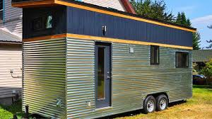 sandpoint tiny house 261 sq ft unique modern tiny house youtube