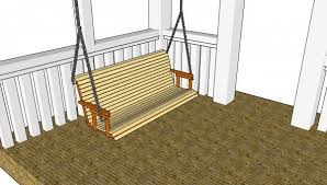 free porch swing plans myoutdoorplans free woodworking plans