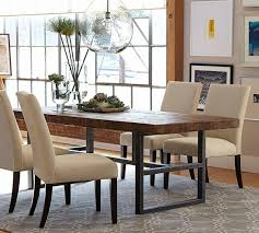 pottery barn farm dining table griffin fixed dining table table madness pinterest room