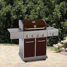 kenmore 4 burner lp mocha gas grill w searing side burner