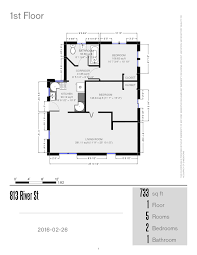 prestige properties llc 813 river u2013 house 2br 1ba