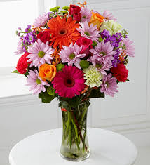 Bouquet Of Flowers In Vase Kroger Sunny Day Bouquet W Free Vase Cincinnati Oh 45202 Ftd