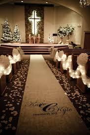 Christmas Wedding Decor - christmas weddings aisle décor concepts decor advisor