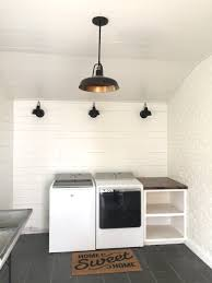 new barn lights in our laundry room beneath my heart
