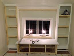 how to build a window seat furniture home building built in bookcase impressive images ideas