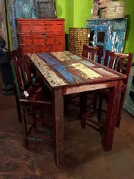 Reclaimed Wood Bar Table Unique Dining Room Furniture Buffet Cabinets Farm Tables Live