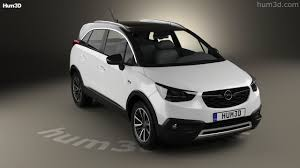 opel suv 2017 360 view of opel crossland x turbo 2017 3d model hum3d store