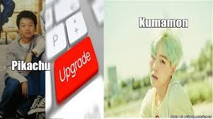Kumamon Meme - from pikachu to kumamon allkpop meme center