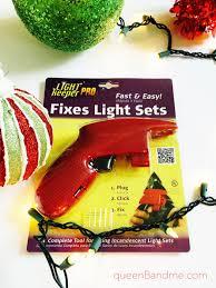 queen b u0026 me easy fix for broken christmas lights