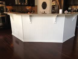 wainscoting kitchen island charming wainscoting kitchen island also bead board 2017