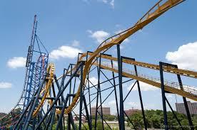 Batman Ride Six Flags Over Georgia Batman The Ride Roller Coaster Guide To Six Flags Over Texas
