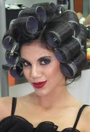 sissified permed hair pin by transvestita transvestit transvestitni on hair curlers