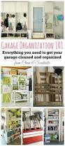 How To Organize Garage - how to organize your garage clean and scentsible