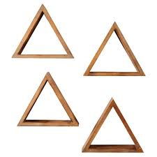 home decorators order status home decorators collection 4 in x 15 in triangular brown wood