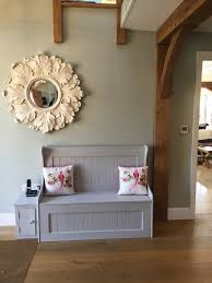 our new monks bench farrow and ball paint with laura ashley
