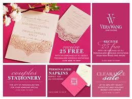 wedding invitation sle wedding invitations sale william arthur and vera wang invitation