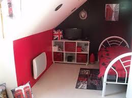 chambre moderne ado design d u0027intérieur de maison moderne 21 chambre gris et rouge