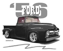 amazon com t shirt 1956 ford f100 pickup truck everything else