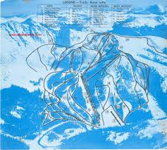 Colorado Ski Map by History Of The Arapahoe Basin Ski Area