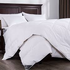 Duvet 100 Cotton Amazon Com Puredown Lightweight Down Comforter Light Warmth Duvet