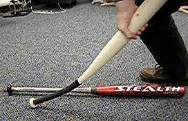 composite bats for softball do handles affect the performance of a baseball or