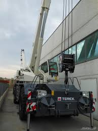 used terex quadstar 1075 rough terrain cranes year 2017 for sale