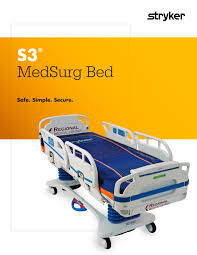 Stryker Frame Bed S3 Medsurg Bed Stryker Pdf Catalogue Technical Documentation