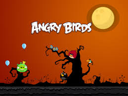 beautiful halloween background angry birds halloween wallpaper