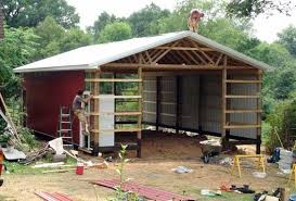 Free Barn Plans Wood Pole Barn Plans Free Barn Shed Or Storage Building