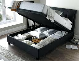 Grey Upholstered Ottoman Bed Upholstered Ottoman Storage Bed Teescorner Info