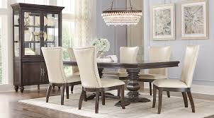 7 pc dining room set westerleigh oak 7 pc rectangle dining room dining room sets wood