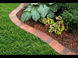 How To Start A Flower Garden In Your Backyard How To Edge A Garden Bed With Brick This Old House Youtube