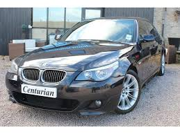 bmw 5 series 530d m sport for sale used bmw 5 series 2005 black paint diesel 530d m sport saloon for