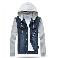 jean sweater jacket cheap blue jean hooded jacket find blue jean hooded jacket deals