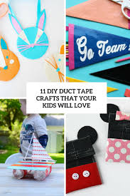 11 diy duct tape crafts that your kids will love shelterness
