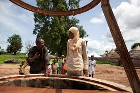 six ways to fix up a well and get clean water oxfam america