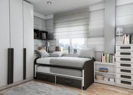 bedroom robust guest bedroom daybed then brick fireplace wall